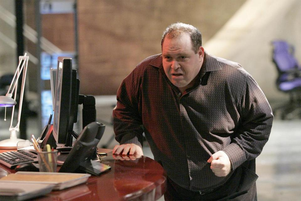 "Louis Lombardi (pictured in a 2006 episode of ""24"") played undercover FBI agent Skip Lipari on ""The Sopranos."""