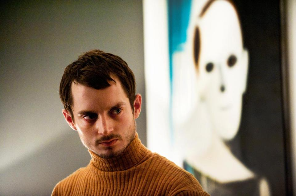 """Maniac"" stars Elijah Wood as a man who affixes scalps of women he kills to mannequins."