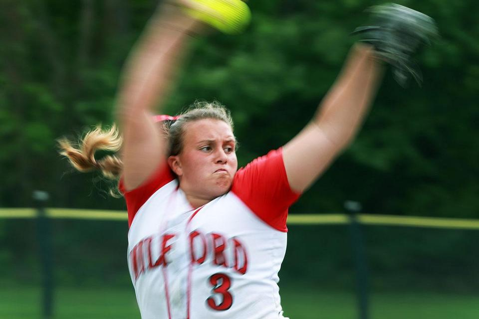 Shannon Smith stole the show in leading Milford to a state softball title.