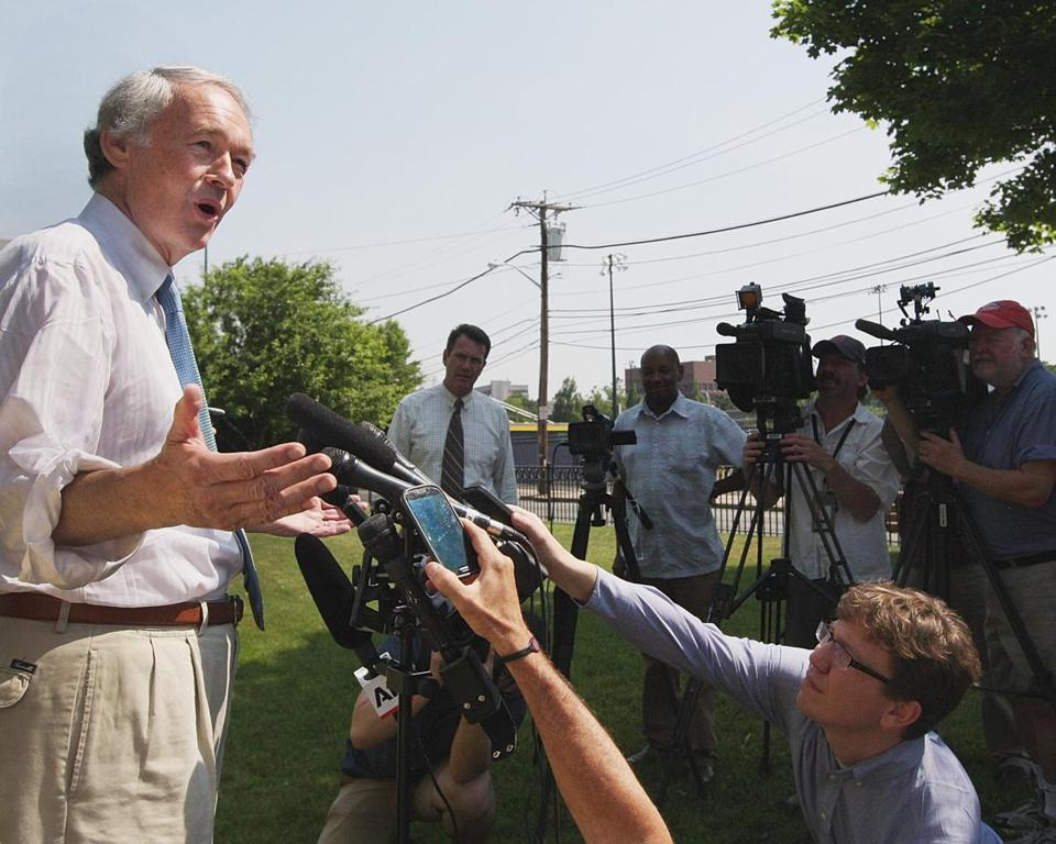 Ed Markey's campaign focused largely on traditional Democratic constituency groups.