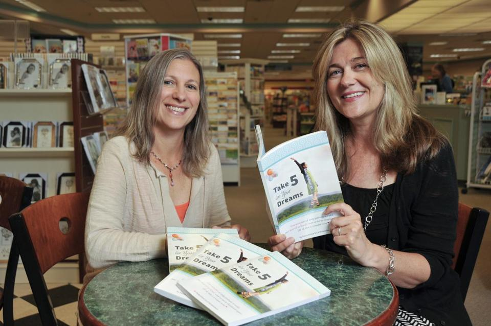 Liz McHutcheon (left) and Paula Grieco hope hope that their book can help boost the self-esteem of girls.