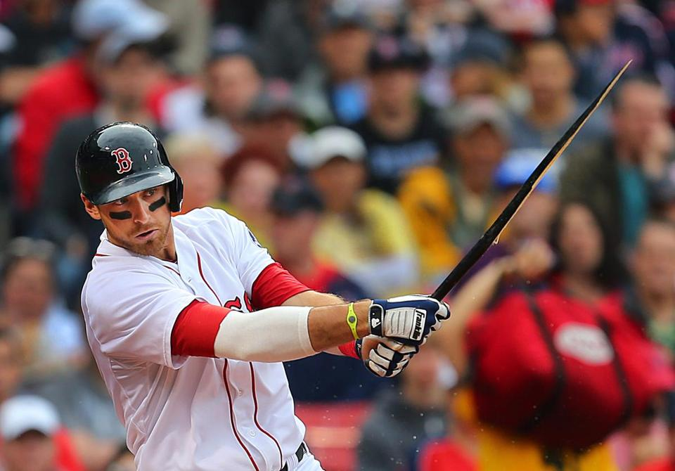 Red Sox third baseman will Middlebrooks is hitting .192 this season.