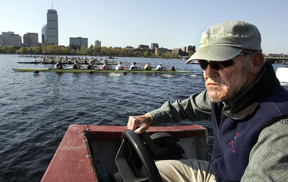 Harry Parker coached at Harvard University for 51 years, winning 16 national titles.