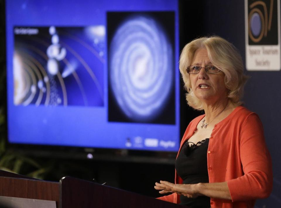 Margaret Race, a scientist at SETI institute, announced the launch of the PayPal Galactic initiative Thursday.