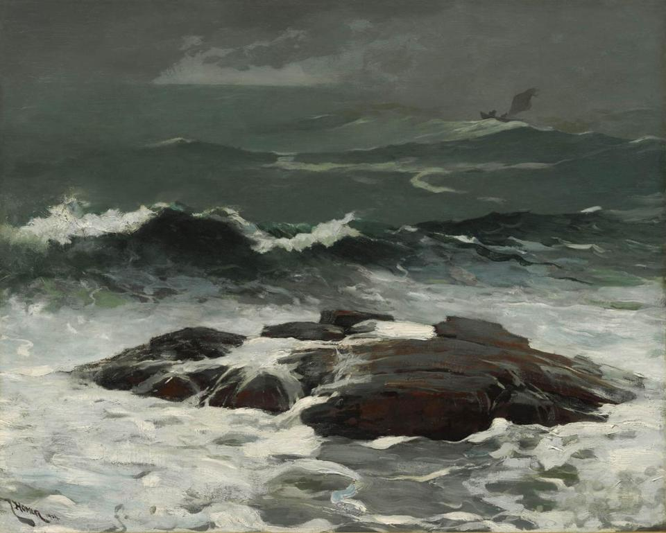 "Winslow Homer's ""Summer Squall"" (1904)."