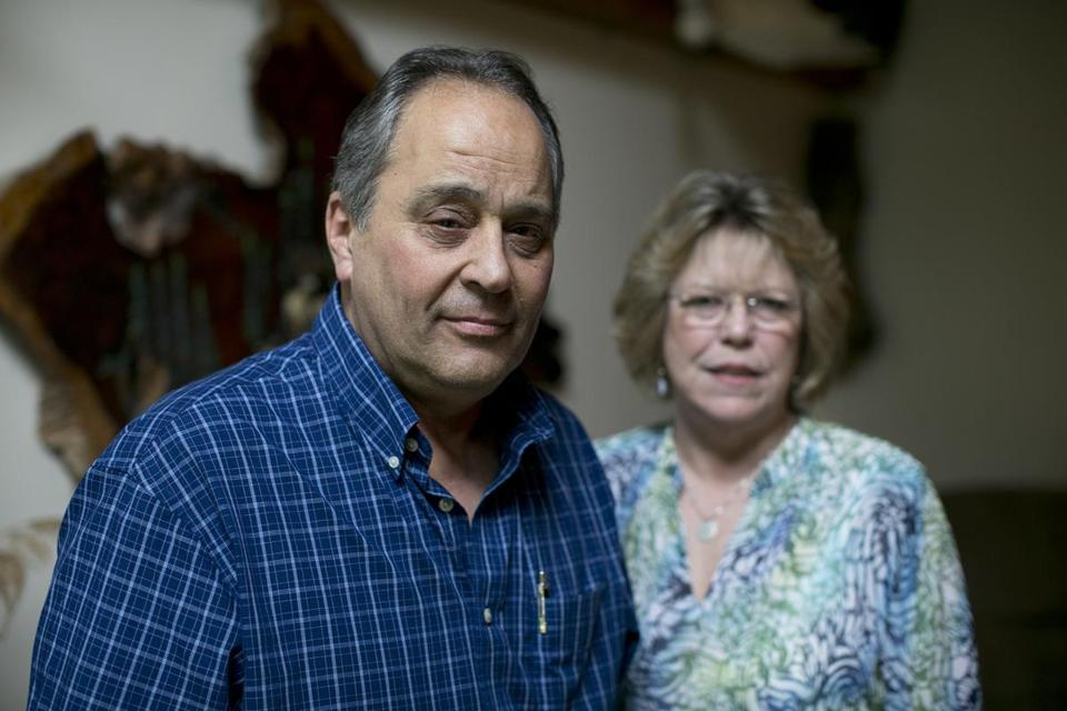 John and Debbie Benedetto of Wakefield searched for 17 years to return medals.