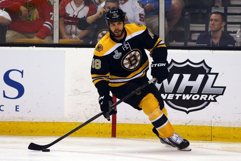 This will be Nathan Horton's first opportunity to become an unrestricted free agent.