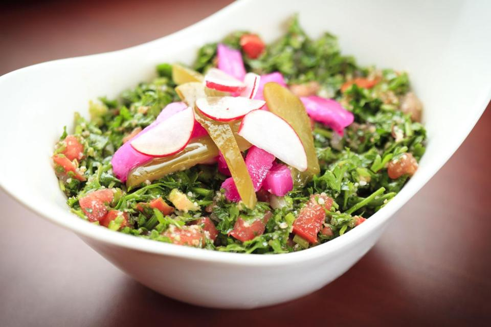 Tabbouleh salad at To Beirut.
