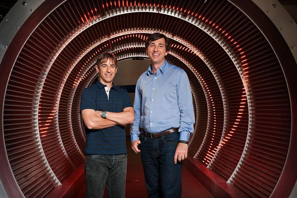 Don Mattrick (right) takes over from Mark Pincus with a big test: reclaiming the top spot on Facebook from King.com.