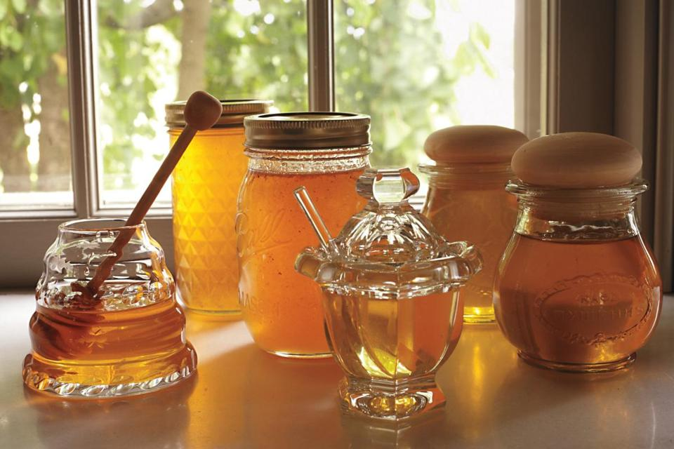 There are many delicious uses — and decorative containers — for your own hive-produced honey.