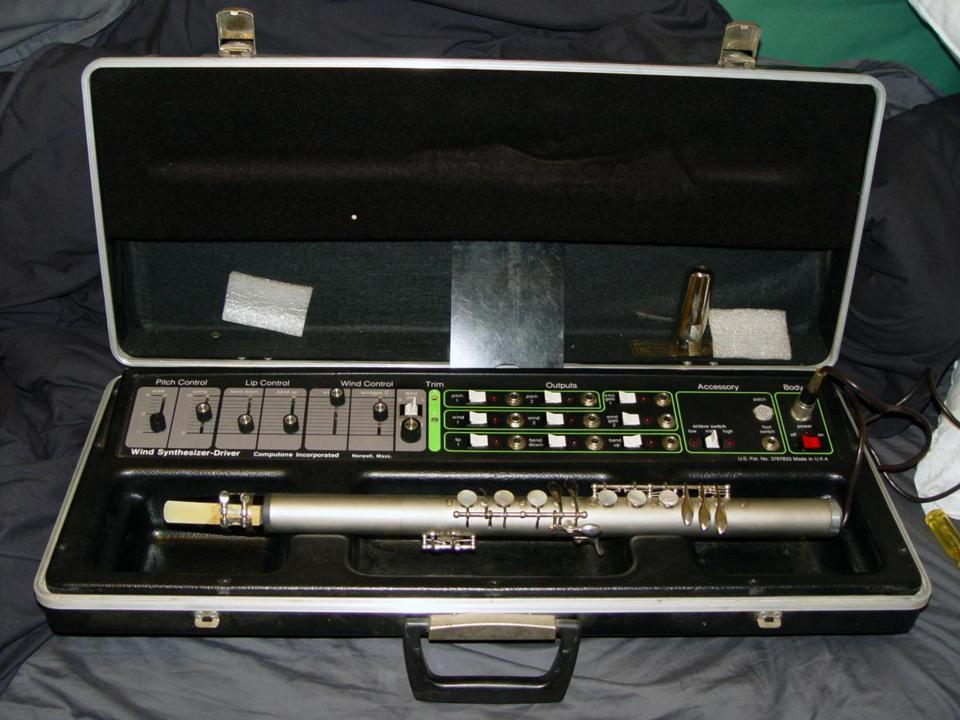 A Computone Wind Synthesizer Controller, essentially a Lyricon II without synthesizer.