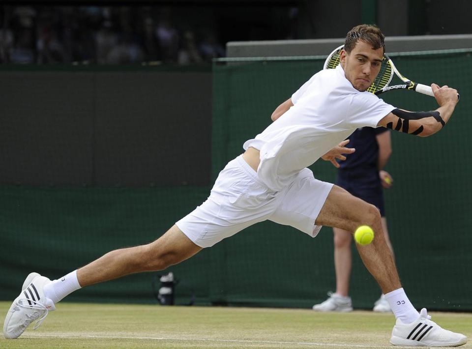 Jerzy Janowicz made history at Wimbledon as the first Polish man to reach a Grand Slam semifinal.