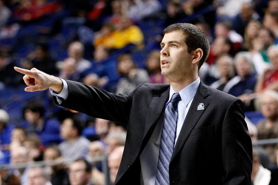 Brad Stevens was hired by the Celtics as the franchise's 17th head coach.