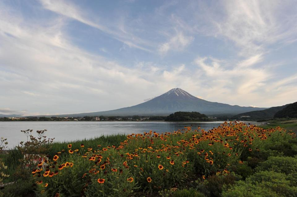 """One never forgets one's first glimpse of Mount Fuji — and the second view is never quite as delicious."" Peter Grilli, outgoing president of the Japan Society of Boston."