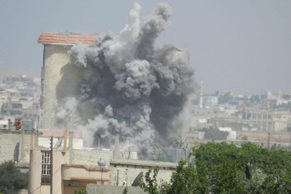 Syrian forces shelled Houla, near Homs, earlier this week, activists said.