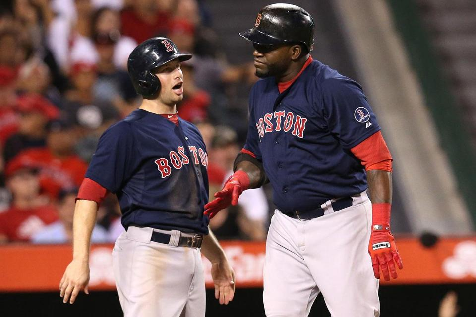David Ortiz got some praise from Daniel Nava after his pinch-hit, two-run home run in the eighth.