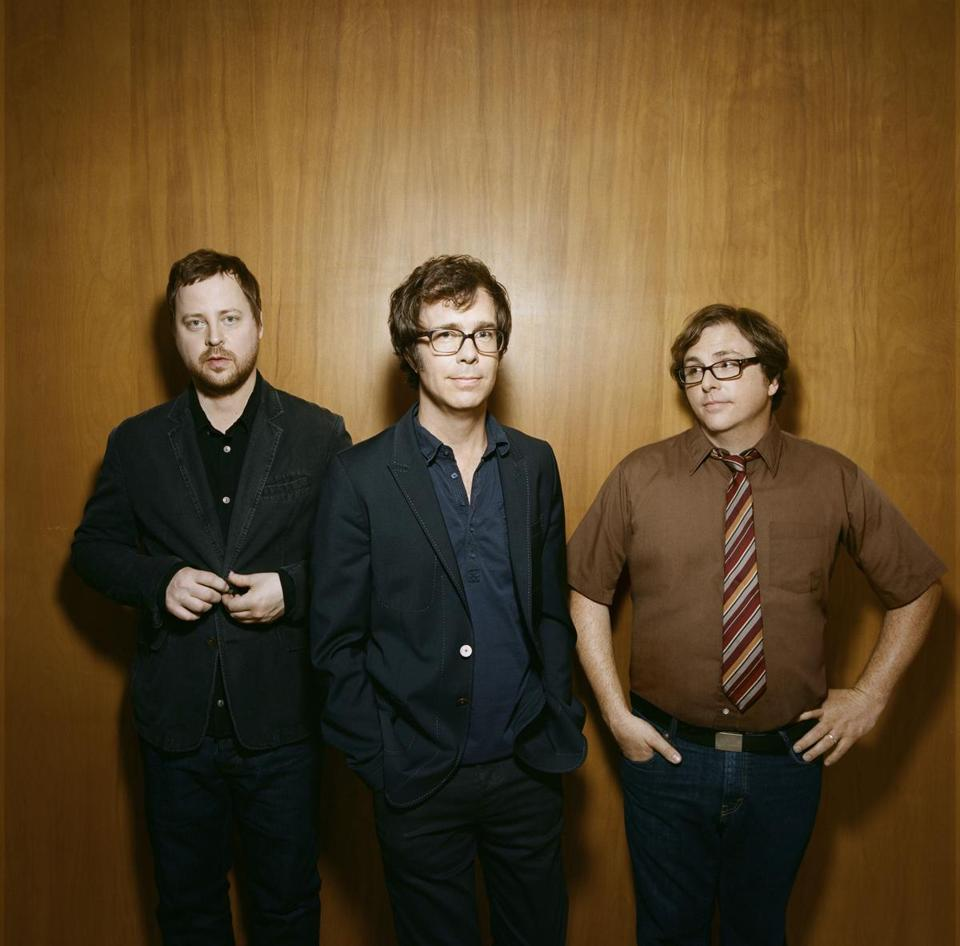 Ben Folds Five, with Folds (center).