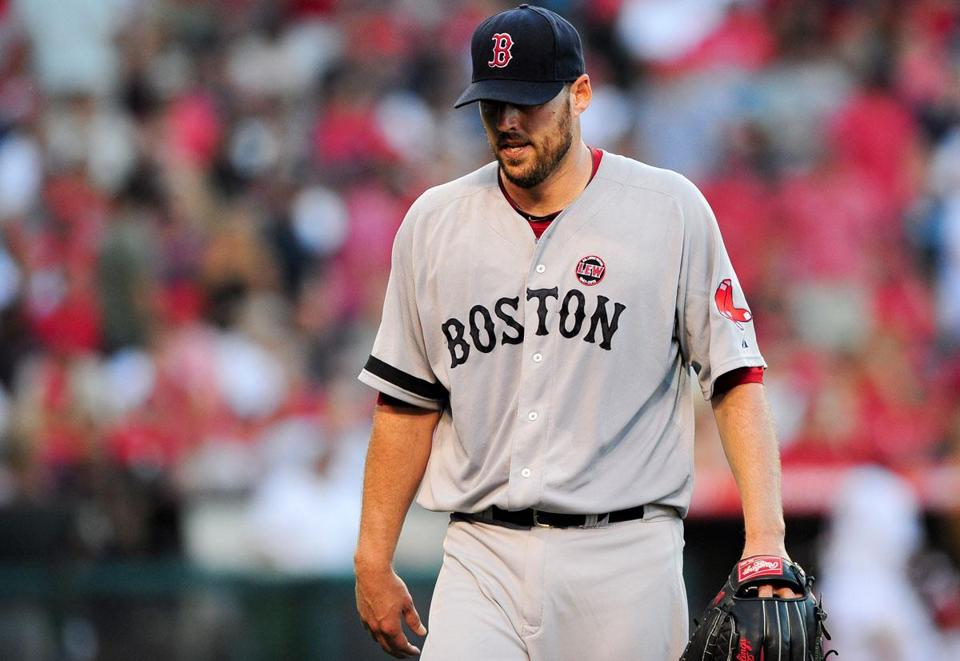 Red Sox pitcher John Lackey