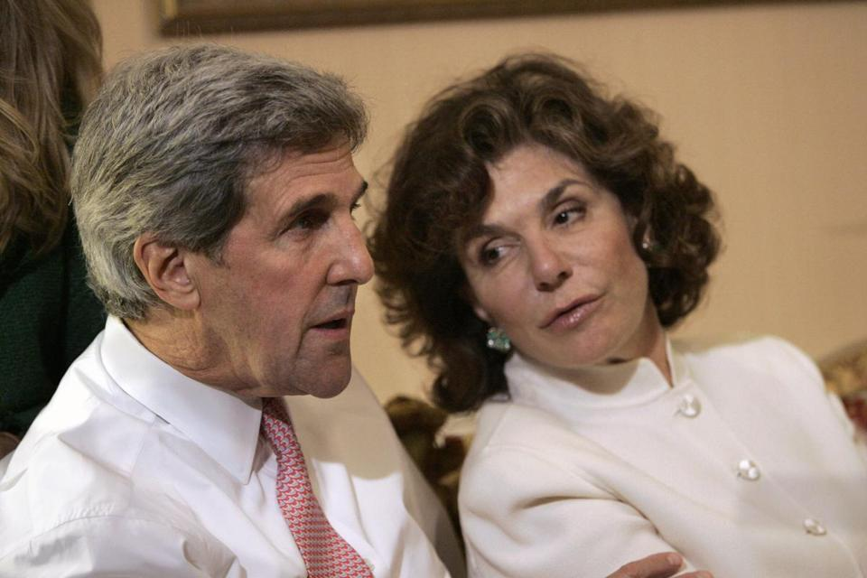 Teresa Heinz Kerry is in fair condition at Mass. General.