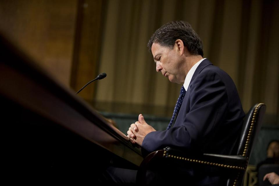 James Comey, President Obama's nominee for FBI director,  answered a range of questions on Capitol Hill on Tuesday.