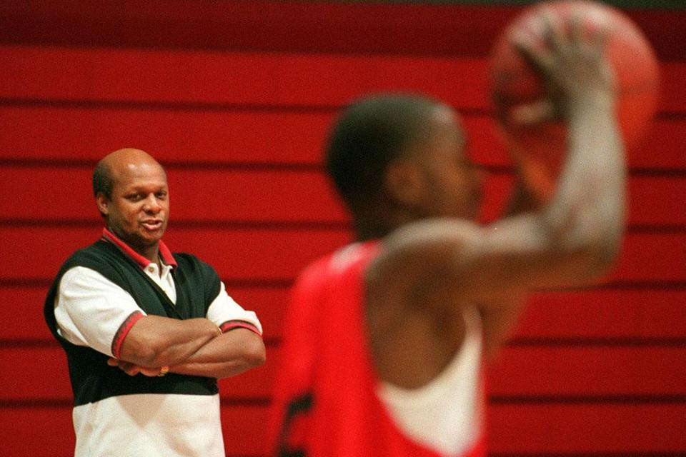 Mr. Keeling coached Northeastern's men's basketball team for five seasons. Upon arrival in Boston in 1996, he told reporters that leaving Maine was a difficult decision.