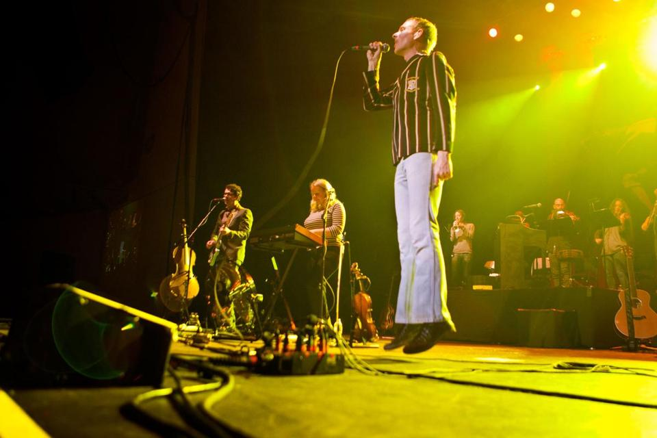 Without a new album to promote, Belle and Sebastian played many older songs.
