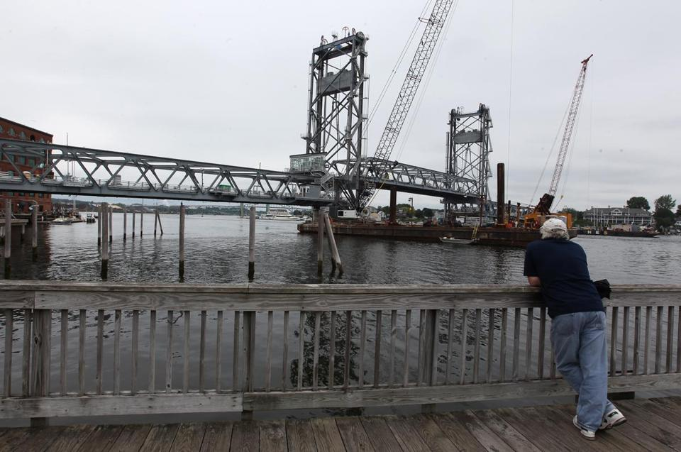 The new Memorial Bridge is expected to open to traffic later this month.