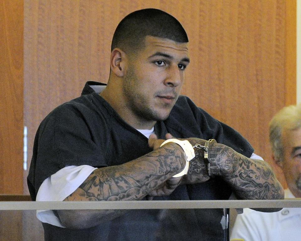 Former New England Patriot Aaron Hernandez could face life in prison.
