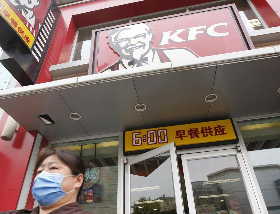 KFC in China is recovering from an Avian flu scare.