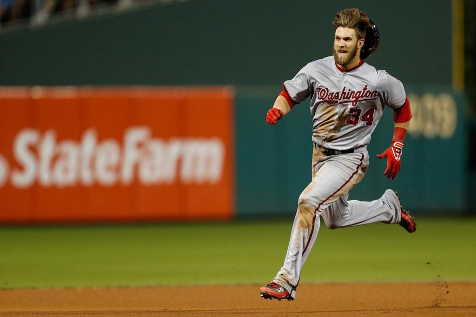 Bryce Harper is headed to his second straight All-Star Game.