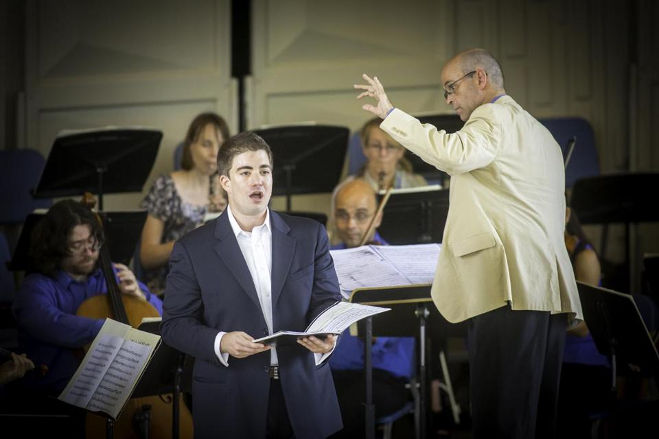 Male soprano Michael Maniaci sang arias as Gil Rose led the Monadnock Festival Orchestra in Sunday's all-Mozart program.