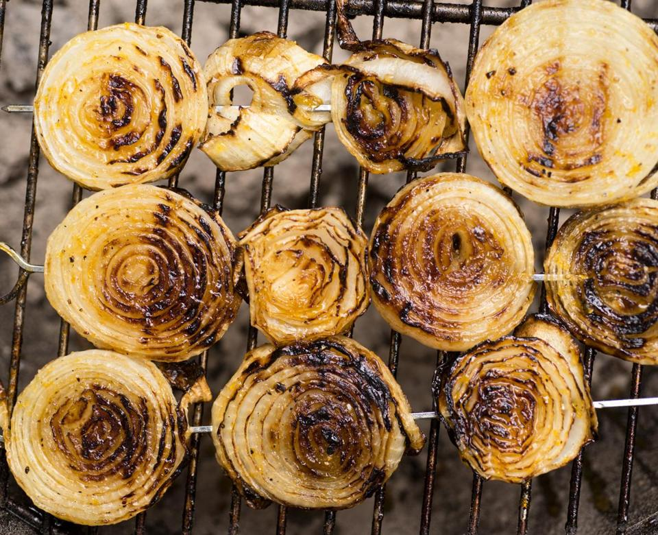 Five grilled onion recipes from Adam Ried - The Boston Globe