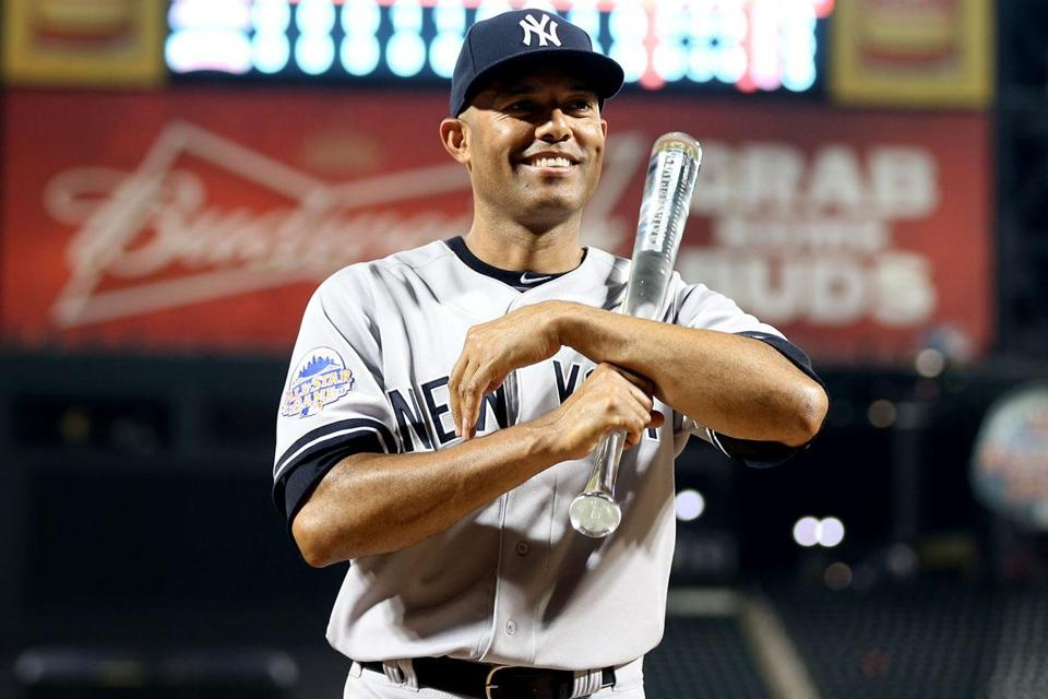The Yankees' Mariano Rivera won the Ted Williams Award as the game's most valuable player.