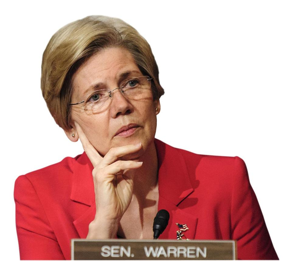 Senator Elizabeth Warren is on the Banking, Housing, and Urban Affairs committee.