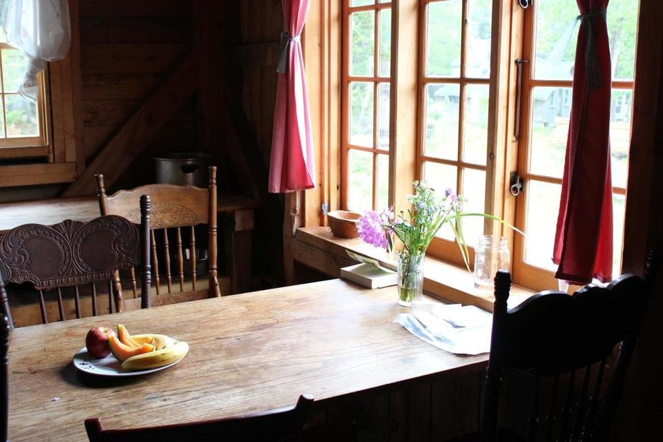A Taste Of Homesteading At A Maine Hostel The Boston Globe