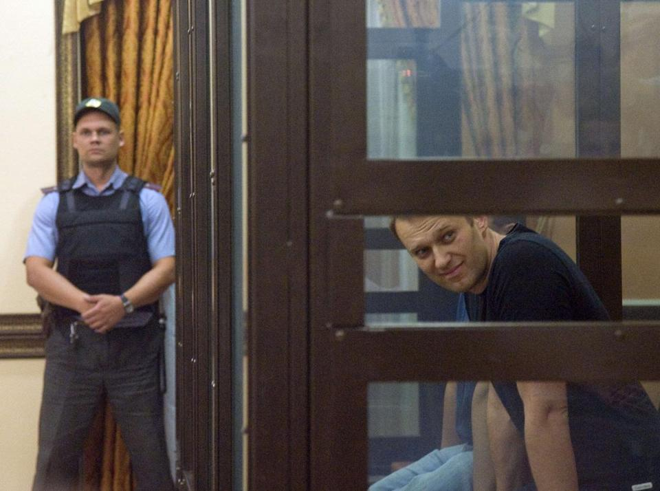 A Russian court on Friday unexpectedly freed protest leader Alexei Navalny pending his appeal against a five-year sentence on embezzlement charges, after his jailing prompted thousands to take to the streets in protest.