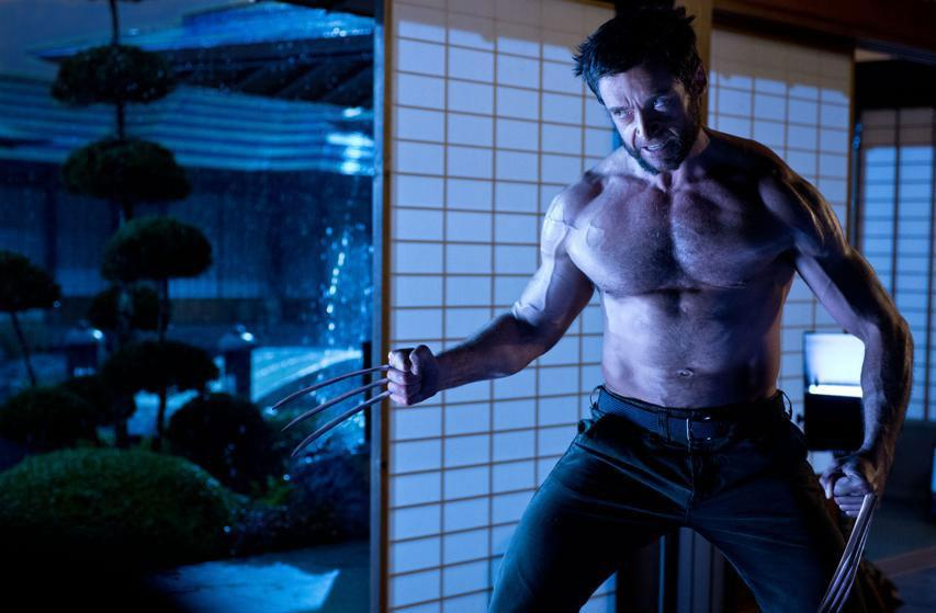 "Hugh Jackman's mutant hero Logan in ""The Wolverine."""