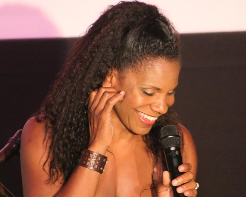 Audra McDonald during her performance Sunday at the Art House in Provincetown.