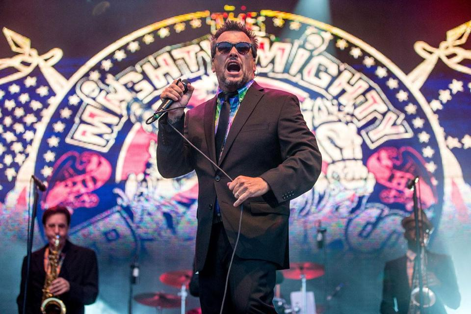 Dicky Barrett and Mighty Mighty Bosstones.