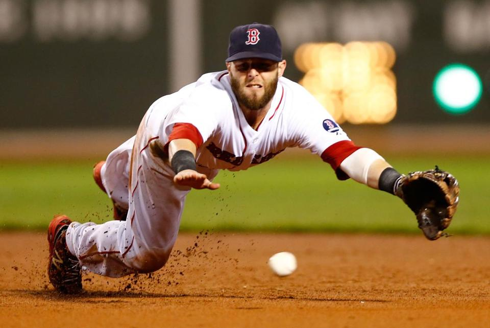 Dustin Pedroia will be wearing a Red Sox uniform for a long time.