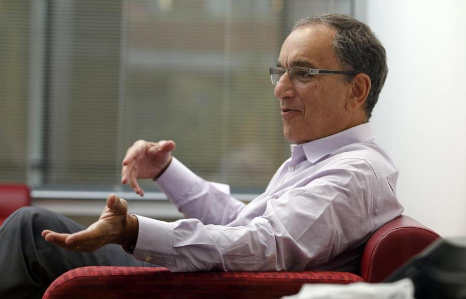 George Scangos heads Biogen Idec, whose shares are up 74 percent this year.