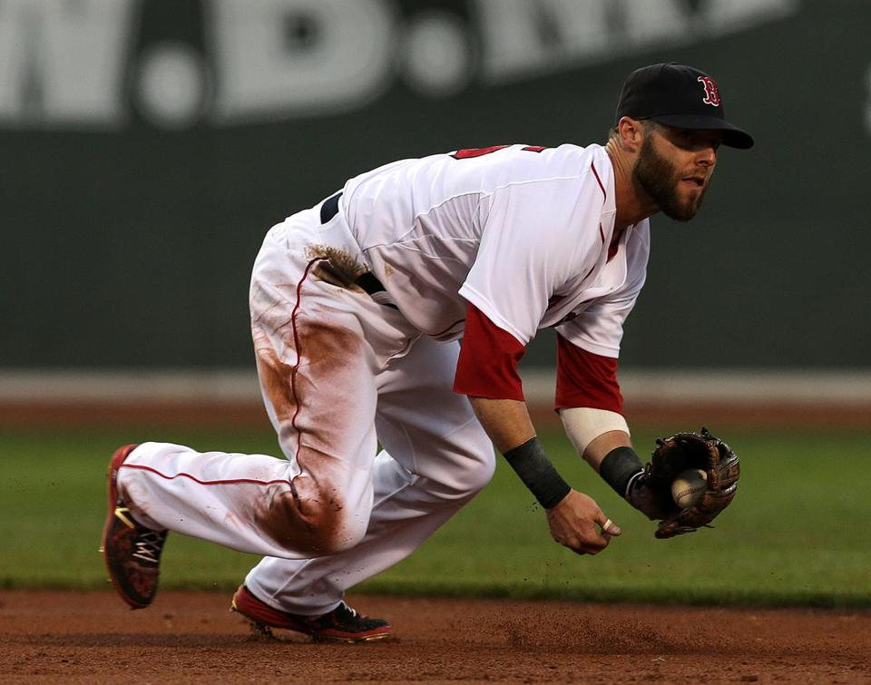 dustin pedroia signs eightyear 110 million contract