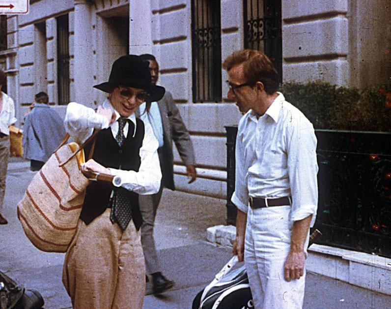 "Diane Keaton and Woody Allen in the 1977 romantic comedy ""Annie Hall.''"