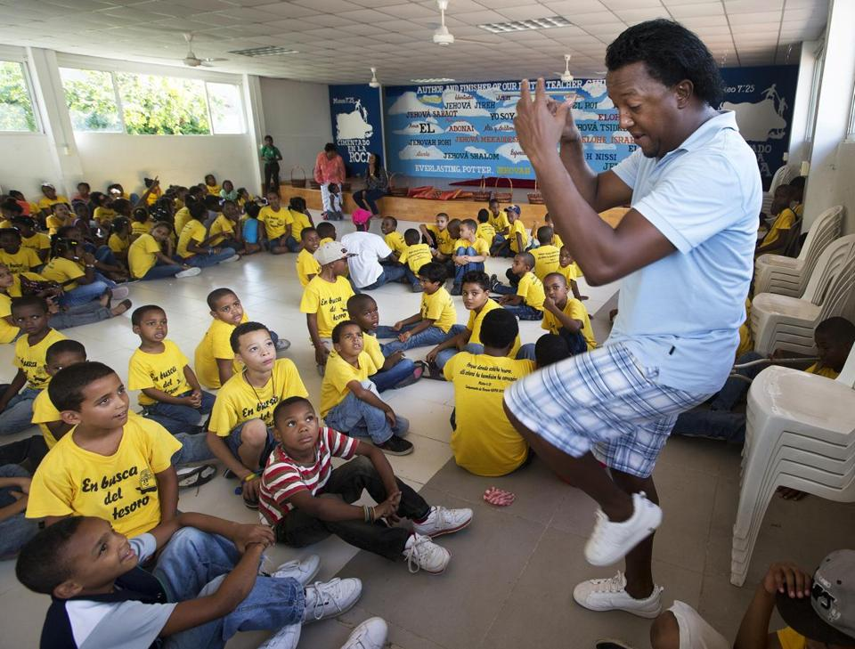 The Pedro Martinez and Brothers Foundation is headquartered on the outskirts of Santo Domingo.