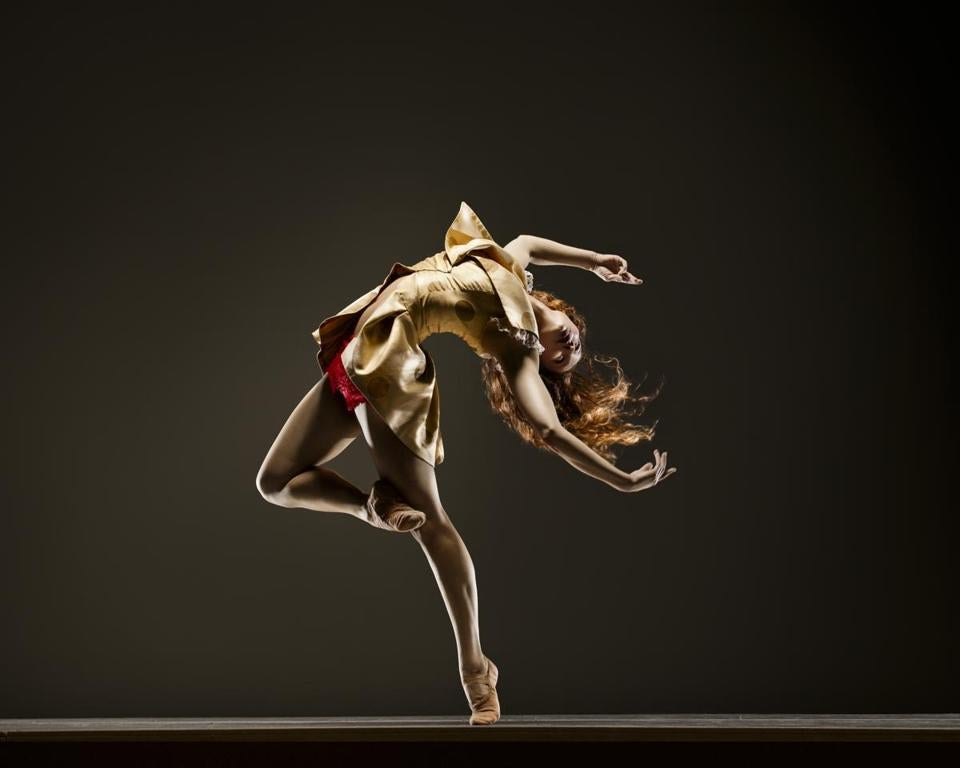 A performer from San Francisco's Robert Moses' Kin, one of the 35 companies in the Boston Contemporary Dance Festival.