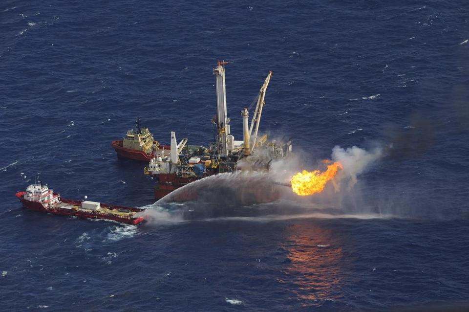 The April 20, 2010, explosion at the BP Deepwater Horizon oil well site killed 11 workers and led to the nation's worst offshore oil spill. Prosecutors said the former Halliburton manager instructed two employees to delete simulation results during a post-spill review.