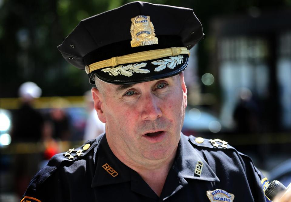 """We started becoming bus drivers,"" said Superintendent in Chief Daniel Linskey of the Boston police."
