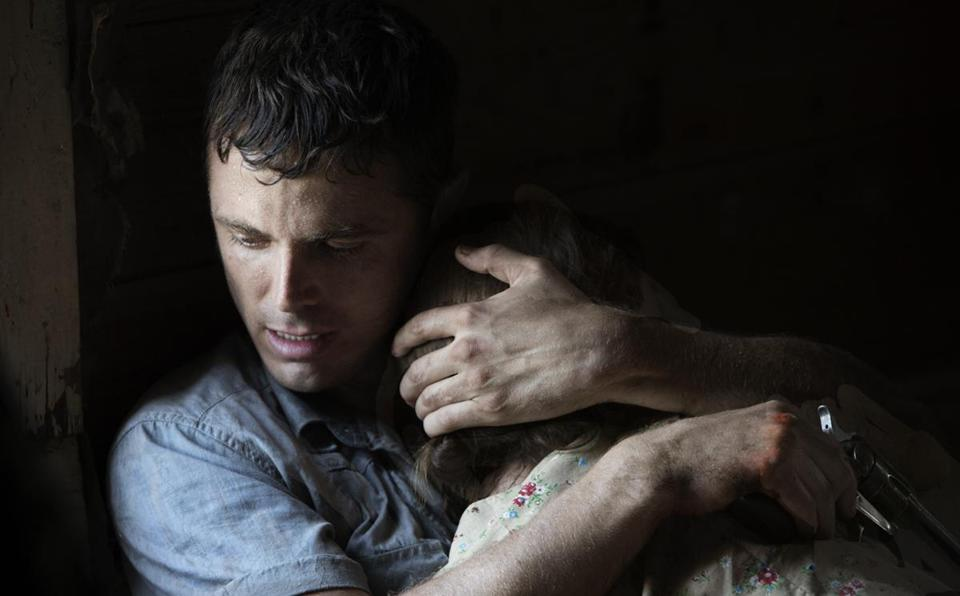 "Casey Affleck and Rooney Mara in a scene from David Lowery's ""Ain't Them Bodies Saints."""