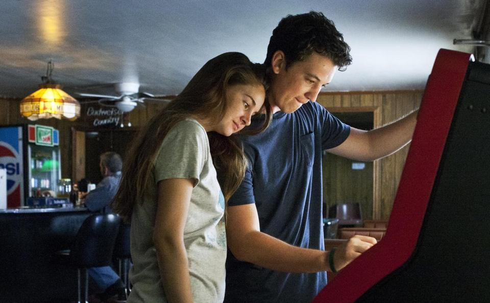 "Shailene Woodley and Miles Teller star in ""The Spectacular Now."""