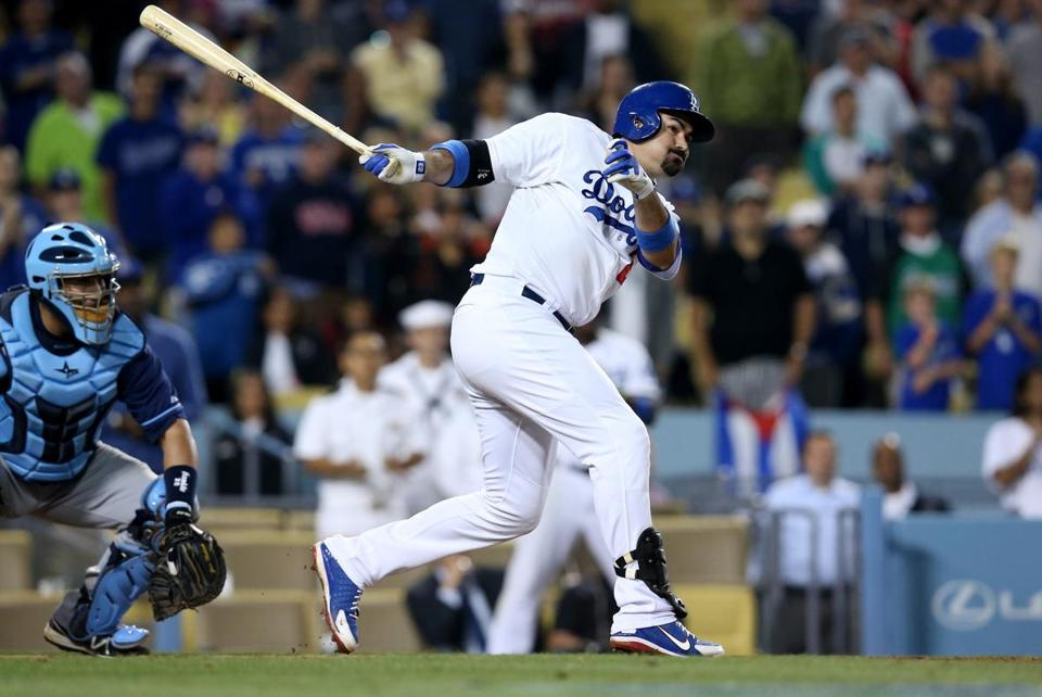 Adrian Gonzalez has impressed the owner of the Dodgers.